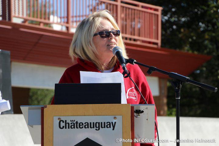Lynda_Proulx directrice maison des jeunes Chateauguay sept2019 photo JH INFOSuroit