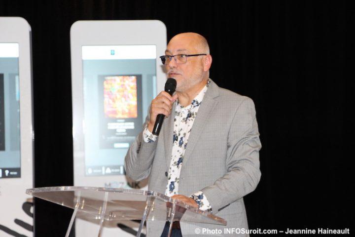 Michel_Vallee lancement Ville vaudreuil-Dorion Je_suis_Mozaik photo JH INFOSuroit
