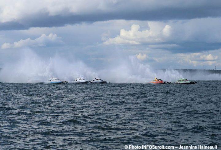 Regates de Beauharnois course Hydro350 avec H-8 H-12 H-799 et plus photo JH INFOSuroit