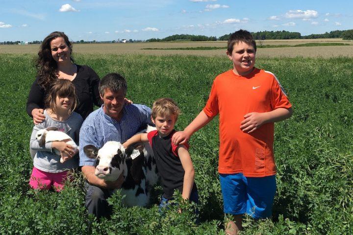 St-Urbain-Premier Ferme E_Brosseau portes ouvertes sur les fermes photo UPA