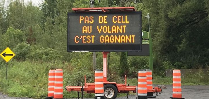 affichage-routier-campagne-pas-de-cell-volant-photo-via-mrc-beauharnois-salaberry