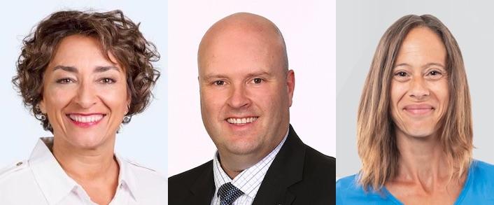 candidats elections federales 2019 CDeBellefeuille MFaubert et JGottman photos courtoisie