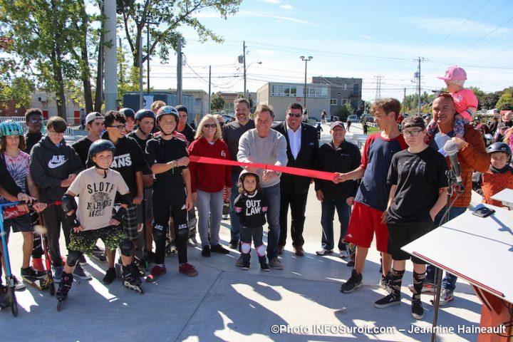 inauguration nouveau skatepark Chateauguay 29sept2019 photo JH INFOSuroit