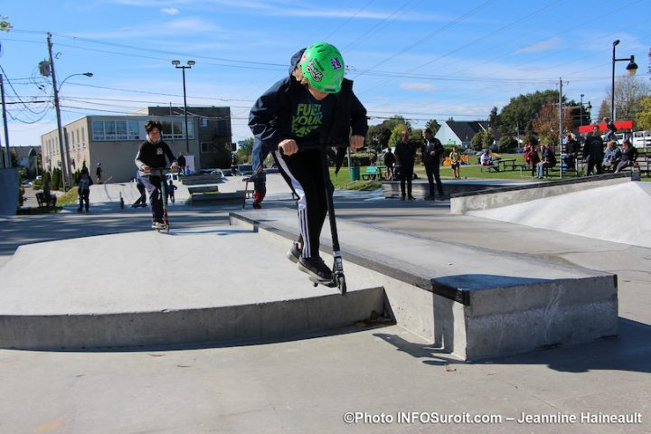 inauguration nouveau skatepark Chateauguay sept2019 photo JH INFOSuroit