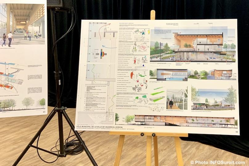 laureat concours architecture pole municipal Vaudreuil-Dorion sept2019 photo INFOSuroit