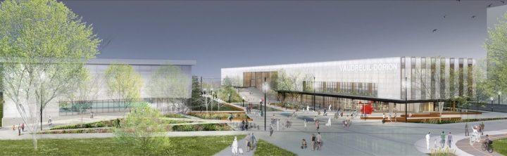 plan gagnant concours architecture pole municipal de Vaudreuil-Dorion visuel courtoisie VD