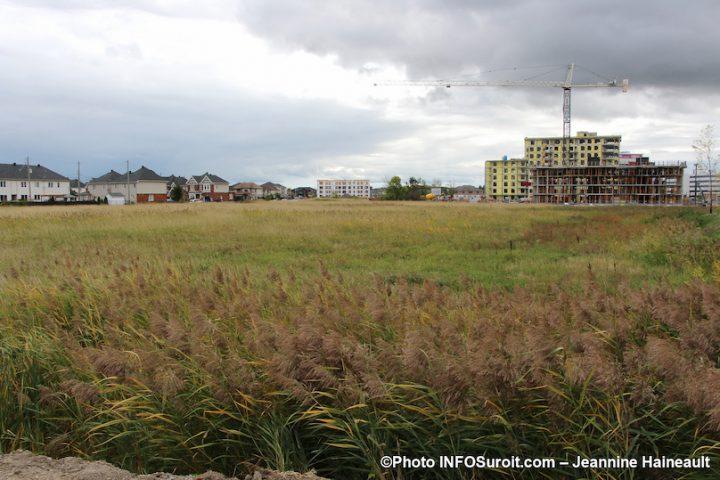 site du futur pole municipal Vaudreuil-Dorion sept2019 photo Jeannine_Haineault INFOSuroit