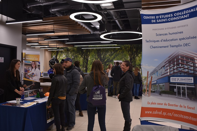 Cegep Valleyfield Portes ouvertes aut2019 au centre etudes de Saint-Constant photo ColVal