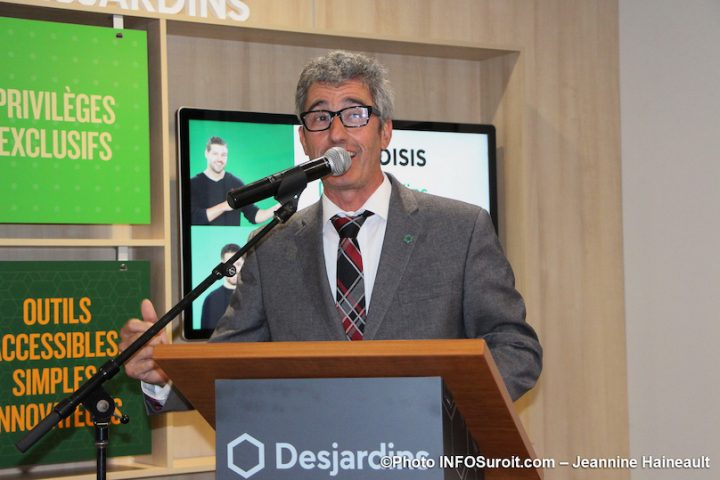 Jean-Francois_Gagnon president caisse Desjardins Valleyfield oct2019 photo JH INFOSuroit