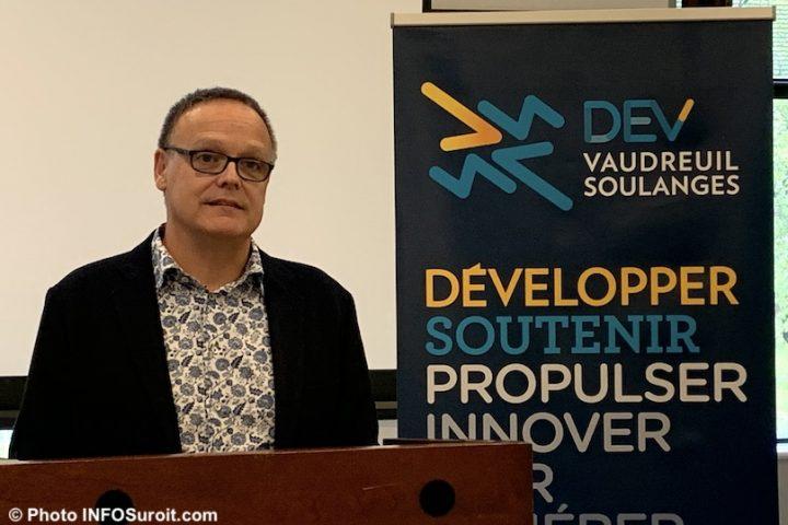 Joel_Lessard directeur Developpement des affaires DEV Vaudreuil-Soulanges oct2019 photo INFOSuroit