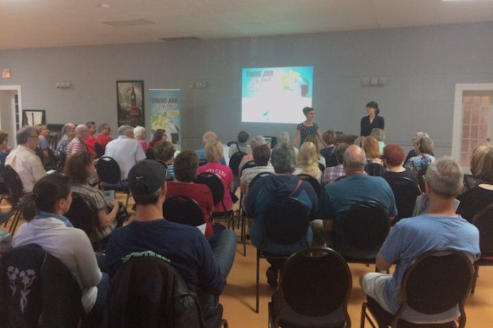 MRC Beauharnois-Salaberry utilisation bac brun compost seance information photo via MRC