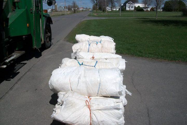 MRC de Beauharnois-Salaberry recuperation recyclage pellicules de plastiques agricoles photo via MRC