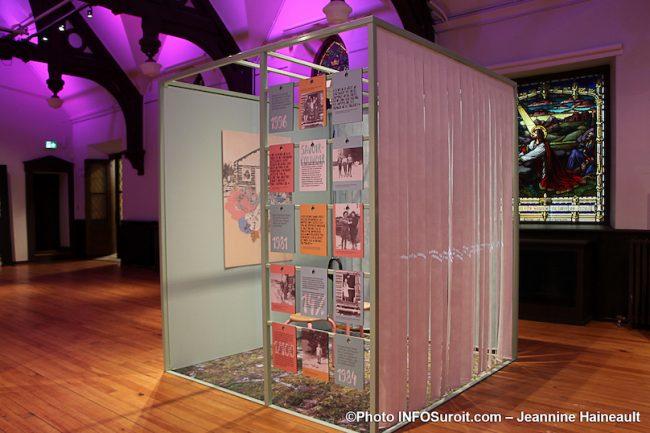 MUSO expo Femmes de papier visuel 1981-1996 photo JH INFOSuroit