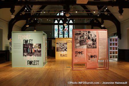 MUSO expo femmes de papier octobre 2019 photo JHaineault INFOSuroit
