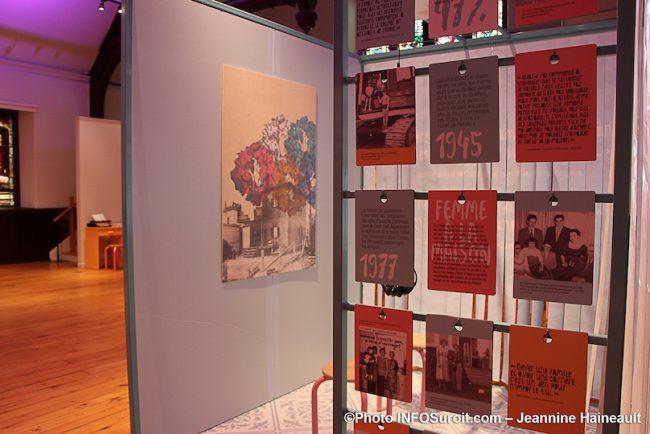 MUSO expo femmes de papier visuel 1945-1977 oct2019 photo JH INFOSuroit