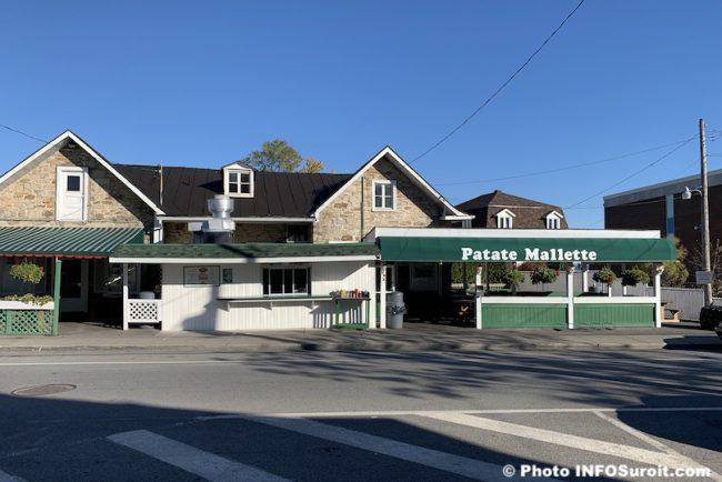 Patate Mallette centre-ville Beauharnois 26 octobre 2019 photo INFOSuroit