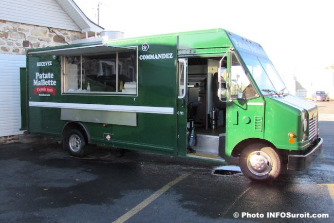 Patate Mallette food truck camion bouffe de rue fin de saison oct2019 photo INFOSuroit