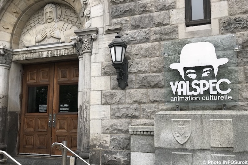 Valspec-enseigne-animation-culturelle-chapelle-du-Sacre-Coeur-Valleyfield-photo-INFOSuroit