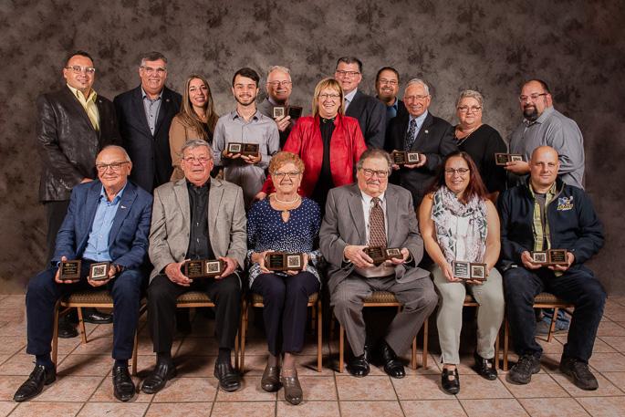 Ville de Mercier benevoles gala des Roses_d_or 2019 laureats photo courtoisie VM