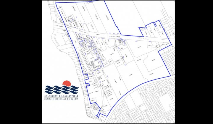 carte parc d_affaires Arthur-Miron a Salaberry-de-Valleyfield visuel courtoisie SdV
