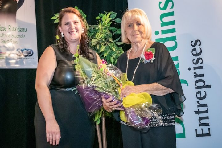 gala agricultrices 2019 ALeblanc presidente et Therese_Riendeau photo via AMO