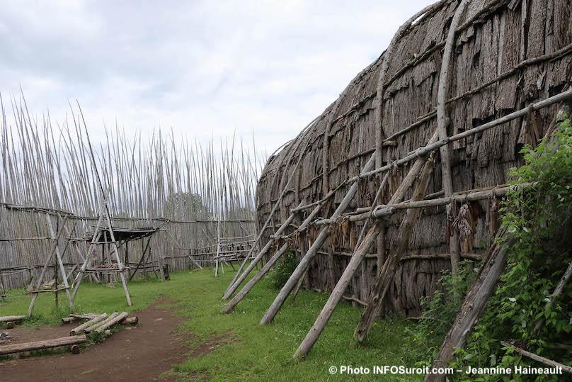 maison longue du centre interpretation site archeo Droulers juin2019 photo JH INFOSuroit