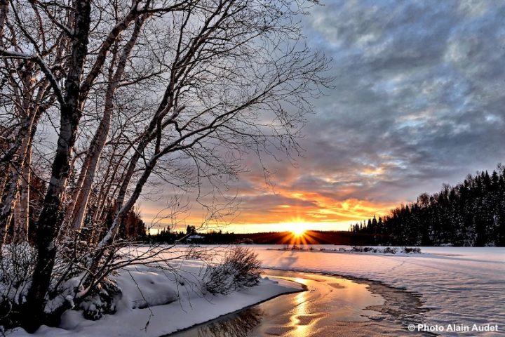 paysage hiver riviere neige photo AlainAudet via Pixabay et INFOSuroit