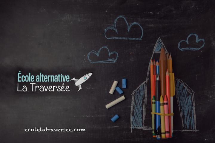 tableau ecole LaTraversee a Valleyfield visuel courtoisie Commision scolaire Vallee-des-Tisserands