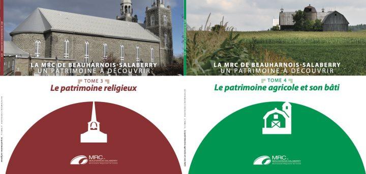 tomes 3 et 4 Un patrimoine a decouvrir de la MRC de Beauharnois-Salaberry