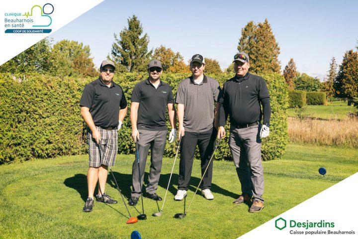 tournoi de golf coop Beauharnois en sante 2019 groupe Desjardins Beauharnois LafPhotographie