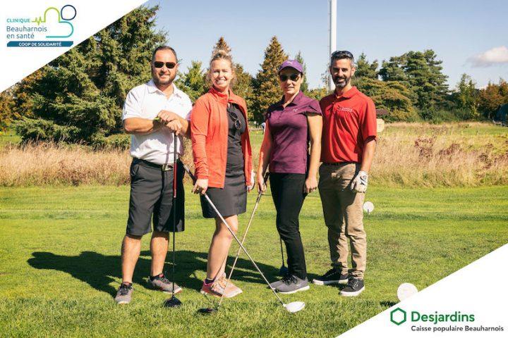 tournoi golf coop Beauharnois en sante 2019 golfeurs groupe EDano LafPhotographie