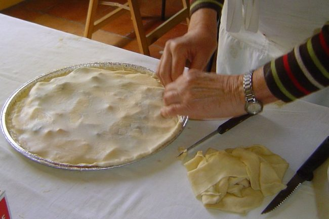 tourtiere cuisine preparation photo CC via Wikimedia