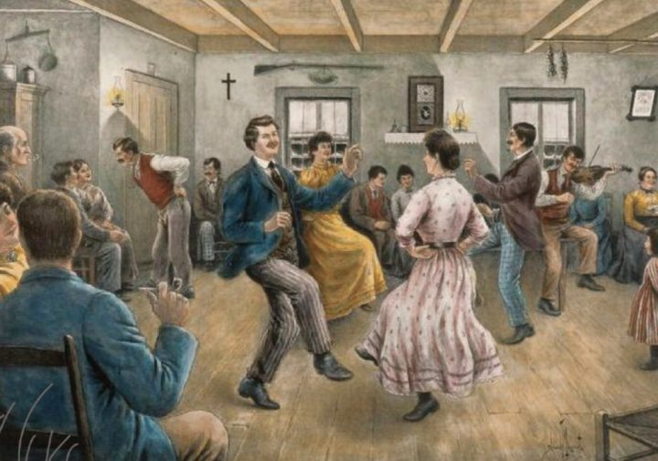 veillee de danse traditionnelle visuel via Ecole du Patrimoine Musee Regional Vaudreuil-Soulanges