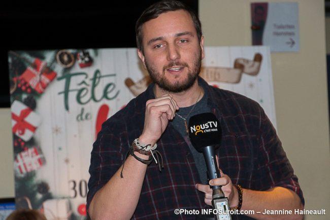 Benoit_Loyer sera animateur de la fete de Noel des citoyens photo JH INFOSuroit