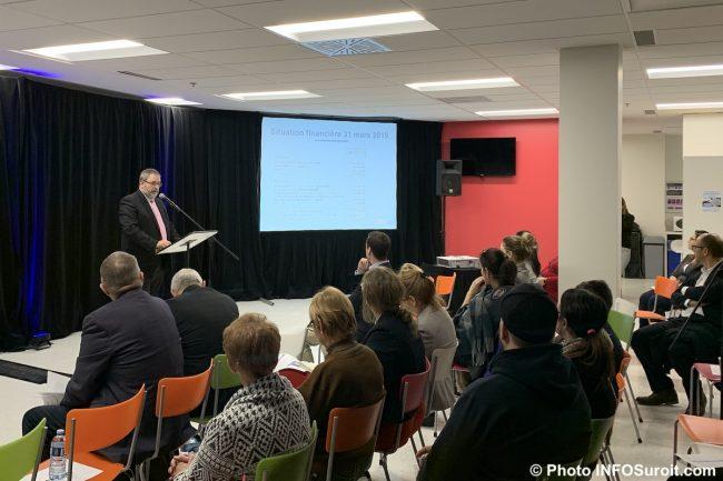 CISSSMO assemblee 2019 bilan financier avec MLarose photo INFOSuroit