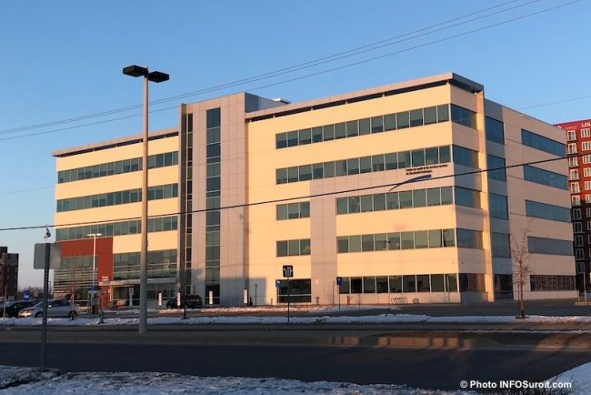 CLSC et centre de services ambulatoires Vaudreuil-Dorion CISSS hiver 2018 photo INFOSuroit