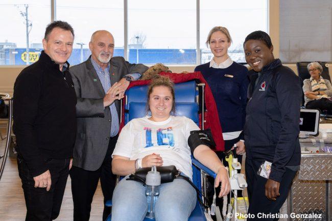 M_Blondin G_Pilon Katherine_Thouin S_Dixon et J_Bernard infirmiere photo C_Gonzalez
