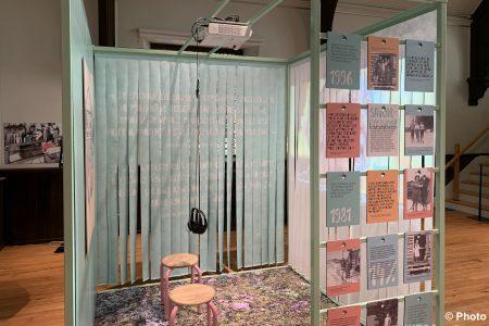 exposition Femmes de papier au MUSO nov2019 photo INFOSuroit