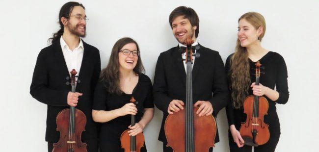 quatuor Andara VDelorme MCVaillancourt DBeausejour-Ostiguy et JCote photo courtoisie
