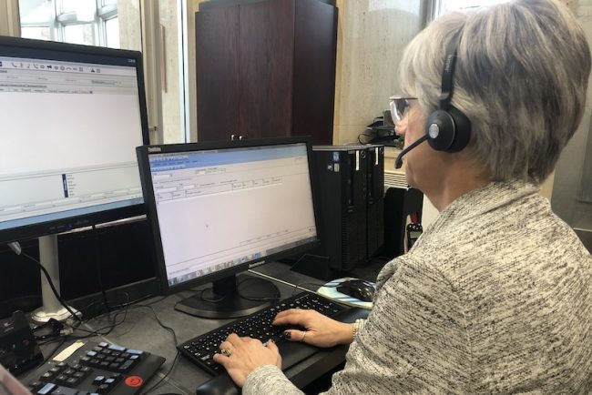 telephoniste centre appels telephoniques requetes signalements ville Valleyfield