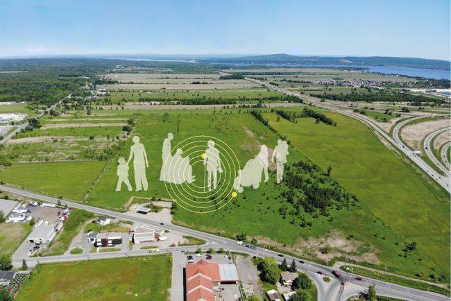 terrain-du-futur-hopital-Vaudreuil-Soulanges-visuel-via-CISSSMO