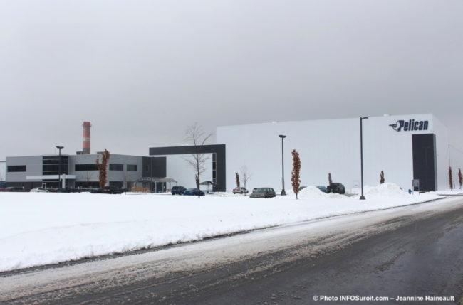 usine Pelican International a Valleyfield nov2018 photo JH INFOSuroit