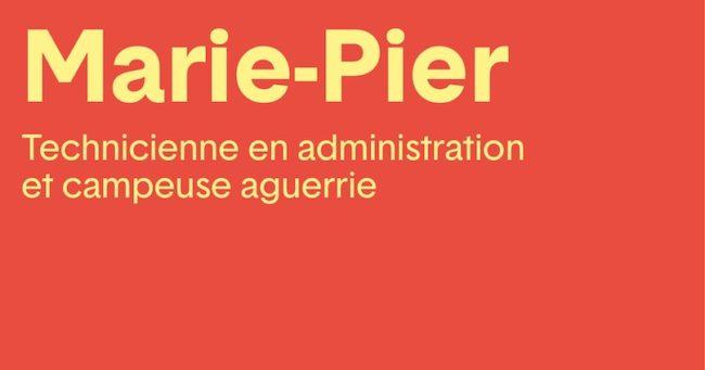 Campagne Sepanouirensemble du CISSSMO visuel Marie-Pier et camping via CISSS