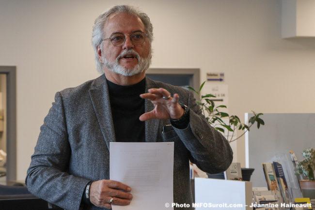 Claude_Haineault president conseil coop Beauharnois en sante fev20 photo JH INFOSuroit