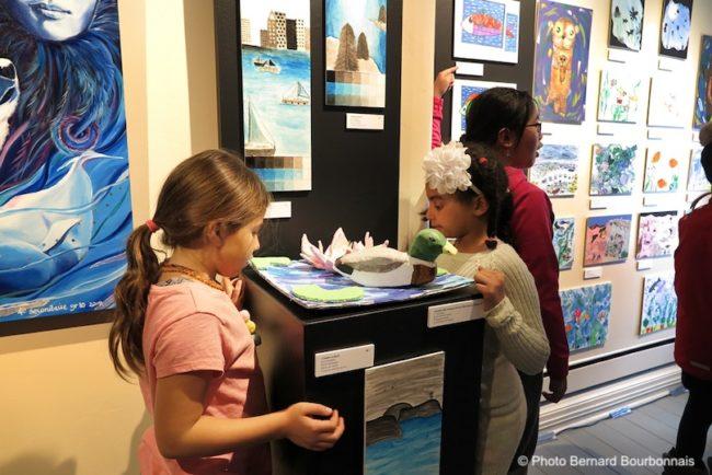 Musee regional VS concours Artistes en herbe 2020 jeunes visiteurs exposition photo BB