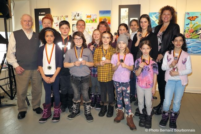 Musee regional VS concours artistes en herbe 2020 medailles bloc2 photo BB