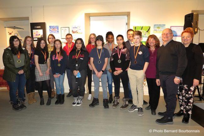 Musee regional VS concours artistes en herbe 2020 medailles bloc3 secondaire photo BB