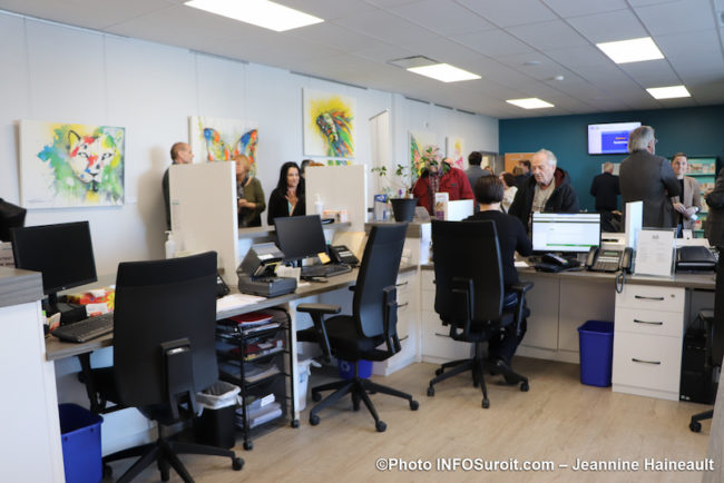 clinique medicale coop Beauharnois en sante portes ouvertes fev20 photo JH INFOSuroit