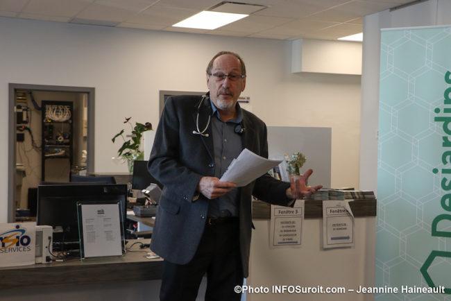 docteur Roger_Ladouceur clinique medicale coop Beauharnois en sante photo JH INFOSuroit fev20