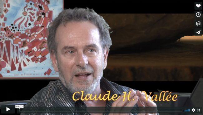 extrait film d_Andre_Desrochers sur artiste Claude_H_Vallee extrait video via Vimeo